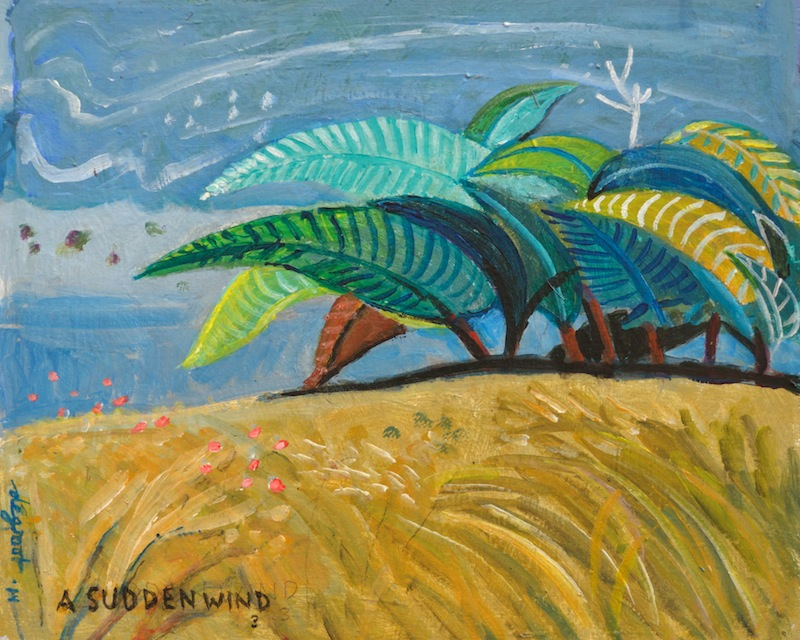 A Sudden Wind #3   10″x12″