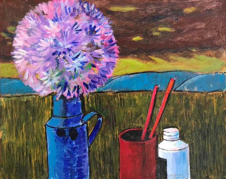 Still-Life and Blue Mountain  20″x16″